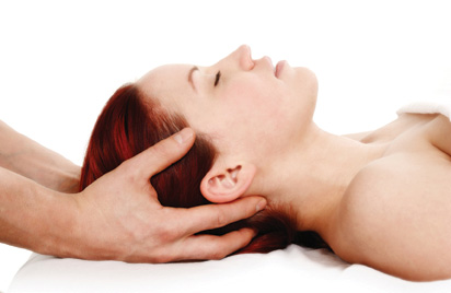 Example of a CranioSacral head hold